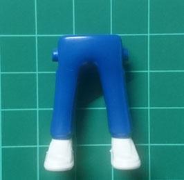 Play.CGP07.C799.6439 Piernas azul zapatillas blanco