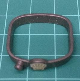 PLAY.A35.C7899.9344 Cinturon Gordos Hebilla c/ Logo C/ Pin Frontal Gris#08 Antracita