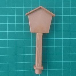 PLAY.CM12.A1320.5173 Cartel poste casa marron