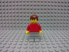 LEGO VARIOS MOD.S00.00.03 MINIFIGURA TORSO ROJO III