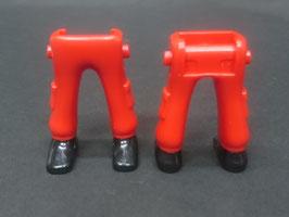 Play.CGP08.A199.5377 Pierna cargo rojo zapato negro