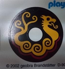 PLAY.CG11.00.03 ADHESIVO ESCUDO REDONDO DRAGON