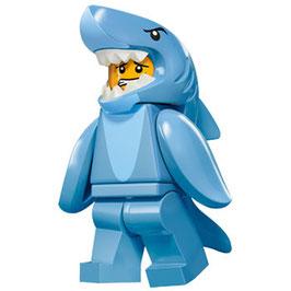 LEGO 71011 MINIFIGURA SERIE 15 Nº 13 HOMBRE DISFRAZ TIBURON