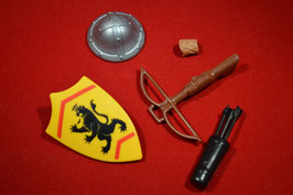 Play. MOD.LOT01.00.12 SET ARMAS MEDIEVAL LEON III