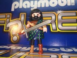 PLAYMOBIL HIGHLANDER ESCOCES #3 CLAN WILLIAM WALLACE MOD.5458-03-TP14