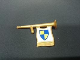 PLAY.G10.B162.5452 INSTRUMENTO TROMPETA CON BANDERA GOLD