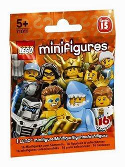 LEGO 71011 MINIFIGURA SERIE 15 SOBRE CERRADO