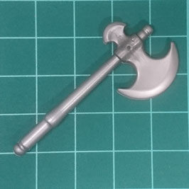 PLAY.A14.A1607.6430 Hacha Vikinga Corta (Silver)
