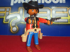 PLAY.FIG13.B3.1233 VAQUERO BARBA DOS PISTOLAS