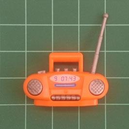 PLAY.G06.C1499.9850 RADIO CASSETTE NARANJA GRIS