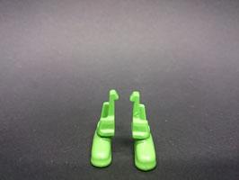 Play.CGP08.C2.00 Zapato Verde Medio (PAR)