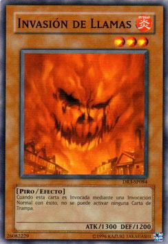 YUGIOH FUEGO | 26082229 INVASION DE LLAMAS DR3