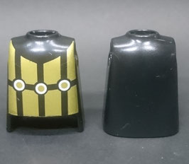 PLAY.T39.C5800.0000 Torso Negro Armadura Gold