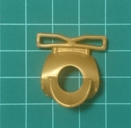 PLAY.D26.A4599.0000 Gorjal Medieval Labrado c/ Guias Armas Gold/verde