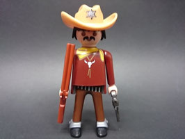PLAY.FIG13.C3.00 SHERIFF CON BIGOTE ARMADO