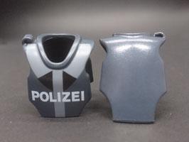 "PLAY.CG20.B499.0000 CHALECO POLICIA ANTRACITA ""POLIZEI"""
