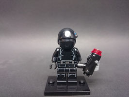 MINIFIGURA SW MOD.S02.A3.75034 IMPERIAL BLACK GUNNER