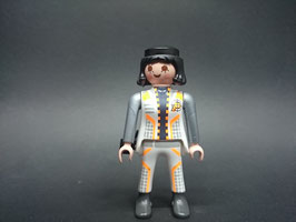 PLAYMOBIL MOD.FIG02.C6.00 MUJER GUARDIA ESPACIAL CON CARTUCHERA