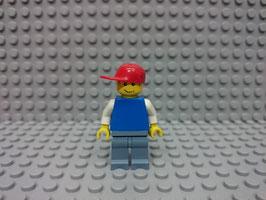 LEGO VARIOS MOD.S00.00.10 MINIFIGURA TORSO AZUL I