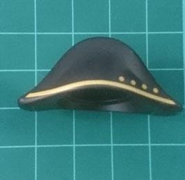 Play.CG13.b299.70273 Sombrero Napoleonico 4 Circulos (Negro/Dorado)