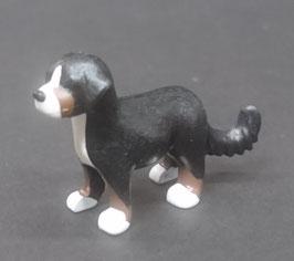PLAY.ANI18.C1363.2153# Animal Perro Montaña Bernese Cachorro NEGRO BLANCO/MARRON