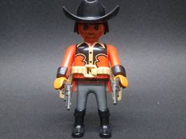 PLAY.FIG13.B5.1233 VAQUERO BARBA DOS PISTOLAS