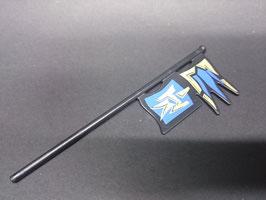 PLAY.A50.A1664.8743 Bandera Negro Azul/Gold