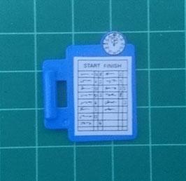 PLAY.CP45.A1299.70565 Carpeta c/ Asa Azul Reloj