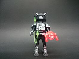 SOBRE PLAYMOBIL 6840 | SERIE 10 Nº 10 ROBOT NEGRO EXTRATERRESTRE