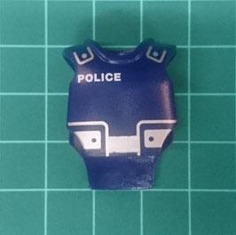 PLAY.D21.B5800.00 CHALECO POLICIA AZUL POLICE