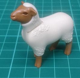PLAY.ANI03.B3465.2303 Animal Oveja Blanca/Marron