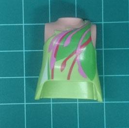 PLAY.T34.B2399.9242 Torso Mujer Verde#04 con Orificio Trasero