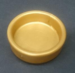Play.CP41.B4500.0000 Bandeja Redondo 25mm (Gold)