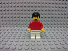 LEGO VARIOS MOD.S00.00.01 MINIFIGURA TORSO ROJO I