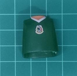 PLAY.T31.C5699.9515 TORSO CORTO VERDE MEXICO