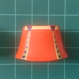 PLAY.CP12.A3499.70566 FALDA MINI DESMONTABLE NARANJA CINTURON AMARILLO