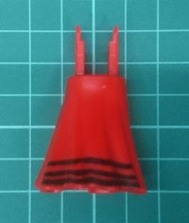 Play.CGP12.A399.6845 Pierna Vestido Ajustado Flamenco (Rojo)