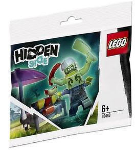 LEGO HIDDEN SIDE | 30463 POLIBAG PUESTO PERRITOS CALIENTES CHEF ENZO