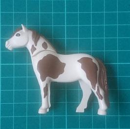 PLAY.ANI01.A5664.8624 Caballo Potro Pony estilo 11 Beig mancha marron
