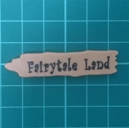 "PLAY.CP38.A1262.9026 Cartel señalizador ""FAIRYTALE LAND"""