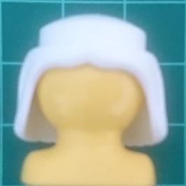 PLAY.CGPH.A508.2992 Pelo Medieval Peinado recto BLANCO