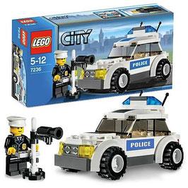 Lego 7236 City coche policia