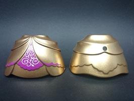 PLAY.CG30.A499.5538 VESTIDO GOLD