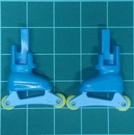 Play.CGP18.A699.9332 Zapato Azul con patines (PAR)