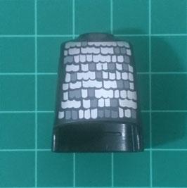PLAY.T64.C699.6587 TORSO PANZON NEGRO COTA GRIS