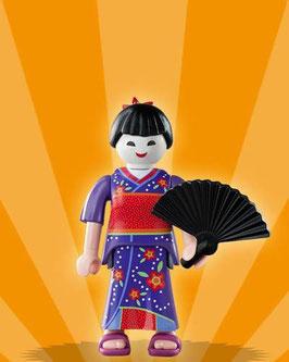 PLAYMOBIL 5158 SERIE 2 | Nº 12 MUJER GEISHA JAPONESA