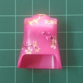 PLAY.T33.B7899.70160 TORSO MUJER ROSA FLORES ORIENTAL