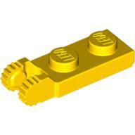 LEGO 44302 | 4183981 PLACA 1X2 C/ BISAGRA VERTICAL 2 DEDOS AMARILLO INTENSO