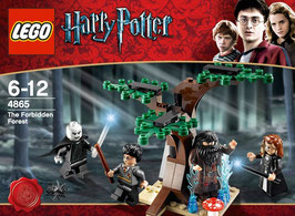 LEGO 4865 HARRY POTTER EL BOSQUE PERDIDO THE FORBIDDEN FOREST
