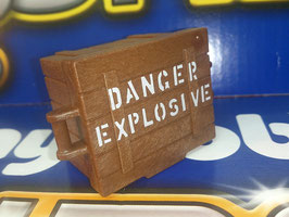 "PLAY.ACC06.A526.7120 CAJA EXPLOSIVOS MADERA ""DANGER EXPLOSIVE"""